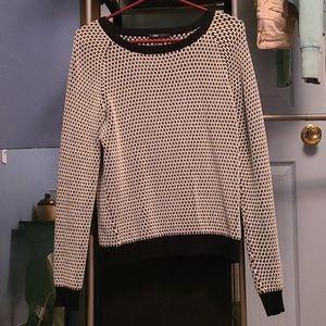 Black & White Sweater